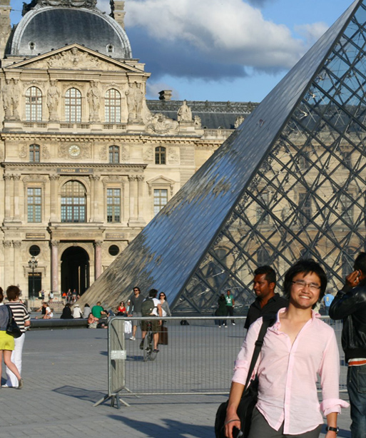 インターン時代のフランス旅行で